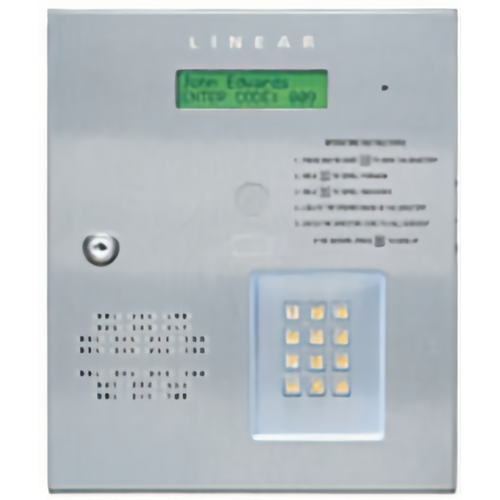 Linear AE-500 Telephone Entry 2x16lcd 250user