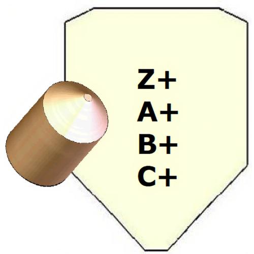 Mul-T-Lock PCY-PIN-SOL+Z Solid Plug Pin Protrusion +z Bg/100