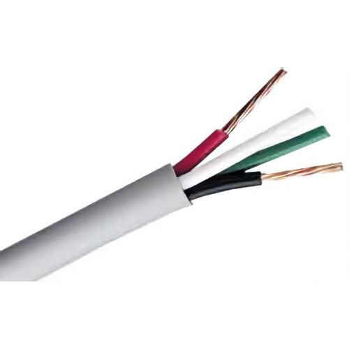 Remee 18/4-STR-PLEN-1000-WHITE-SPOOL 18/4c Str Cmp White 1000ft Reel/spool