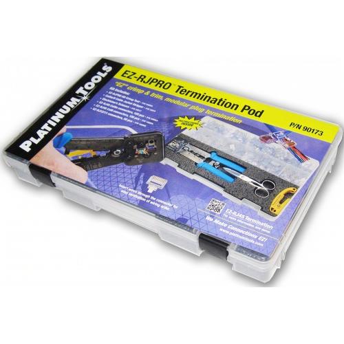 Platinum Tools 90173 Ez Kit Cat5 Cat6 Rj11 100054 15015 10518