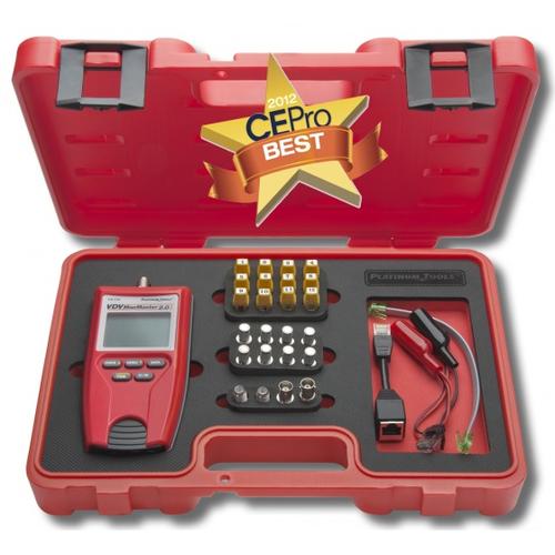 Platinum Tools T129K1 Vdv Mapmaster 20 Test Kit Box