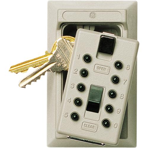Kidde 001365 Titanium Wall Key Box Push Button