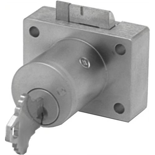 Olympus Lock 850SC-US26D-KD 7/8in Deadlatch Drawer Lock Schlage C