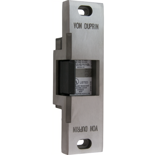 Von Duprin 6113-US32D-24VDC-FSE Electric Strike Rim Exit Device