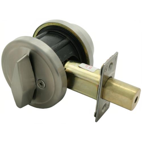 Mul-T-Lock 206XP-MD1-05 Grade 2 Single Cyl Db Bright Brass