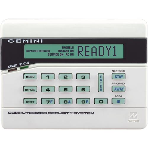 Napco Security GEM-RP2AS Alpha Symbol (lcd Type) Keypad