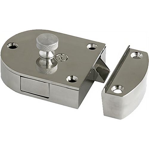 Parker Hardware 551SPB Secret Gate Lock Brass