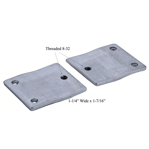 Major LMB-04 Steel Door Mounting Bracket