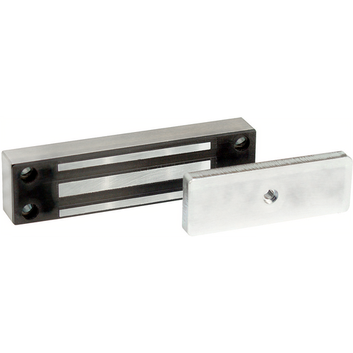 Securitron MCL-24 24 Volt Magnetic Cabinet Lock Satin Stainless Steel Finish