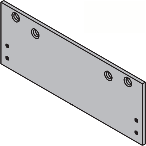 LCN 1260-18PA-AL Door Closer Mounting Plates