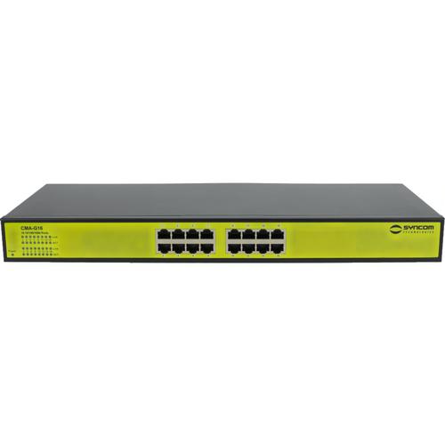West Penn Wire CMA-G16 16 Port Gb Switch