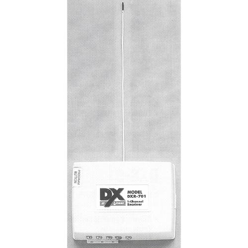 Linear DXR-701 1ch Receiver 32-xmit Capacity