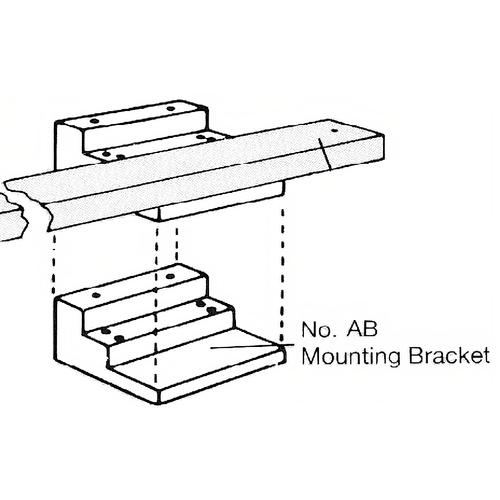 Door Controls 601AB Mounting Bracket F/coordinator