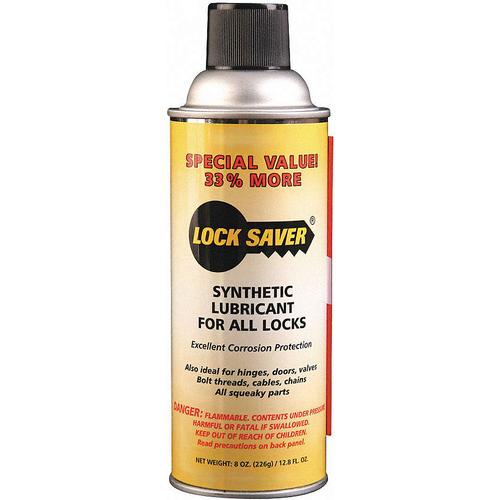 Lock Saver 60601 12.65 Oz. Lock Saver Aerosol