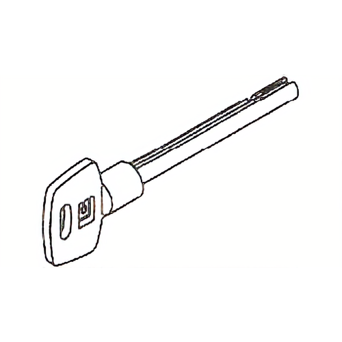 La Gard 2218-02 Pair Of Keys 5in Random Cut