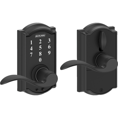 Schlage FE695CAMACC622 16-211 Touch Keypad Lever Camelot/accent