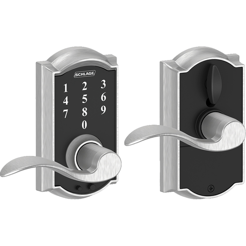 Schlage FE695CAMACC625 16-211 Touch Keypad Lever Camelot/accent
