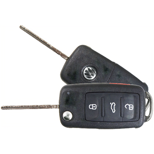 Remotes Head Keys & Remotes VW-1689 Vw 3btn Flip Key Rhk L,u,p