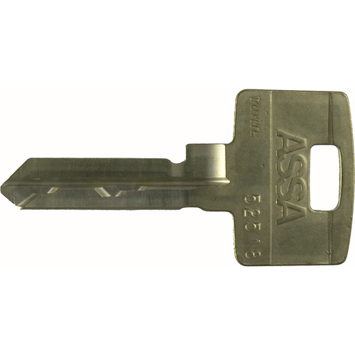 Assa Abloy 867091-52-719 Twin 6000 Key Blank 52 Profile
