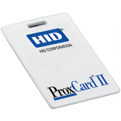 HID 1326LMSMVFC121 Clamshell Prox Card Ii 26bit Fac-121