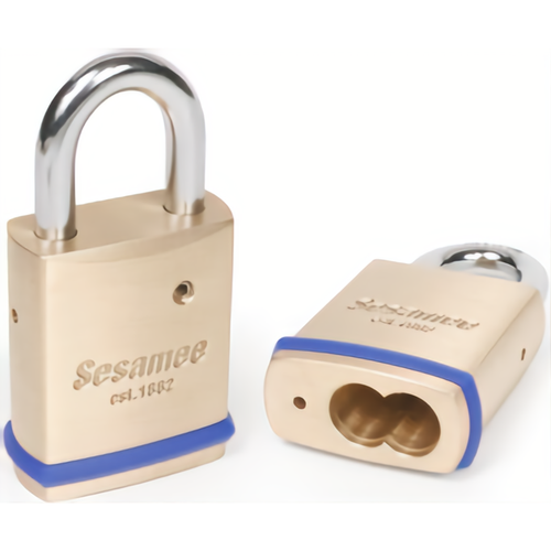 CCL 76015 Brass Sfic Padlock 4in Shackle
