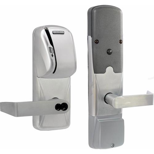 Schlage AD400-MS70MS-RHO626-RD-8B Kit - Mag Stripe (swipe) Wireless Mortis