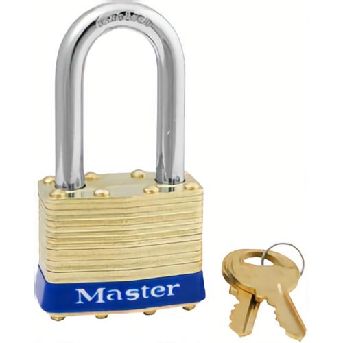Master Lock 2KALF2012 Brass Padlock Boxed