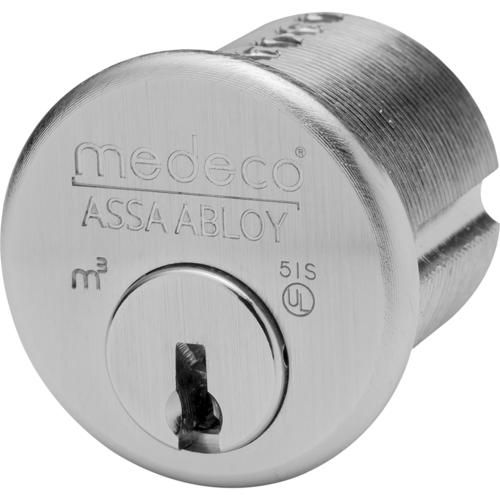 Medeco 100500-T-24-DAN Mortise Cylinder 1-1/4in M3 Less Slider