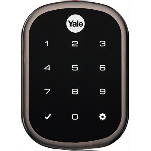 Yale YRD256 CBA 10BP Kit - Key Free Ts Connect By August Slim