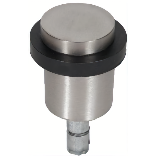 Trimco 7280.62-6/630 fOCAL Small Floor Stop Satin Chrome by Satin Stainless Steel Finish