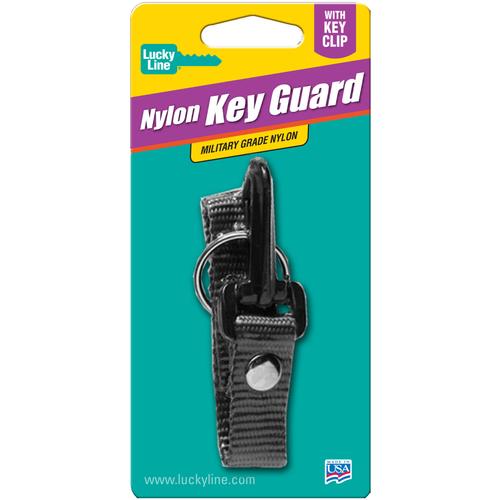 Luckyline 41801 7in Key Guard W/j Clip,1/cd