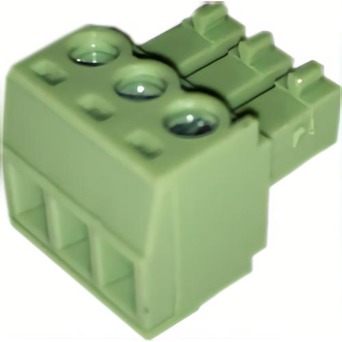 CIC S-26-016 Green Plug 3 Port