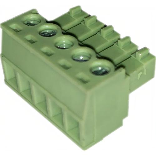 CIC S-26-017 Green Plug 5 Port