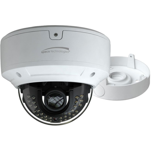 Speco O4D6M 4mp Dome Ip Camera, 3.3-12mm Moto Lens