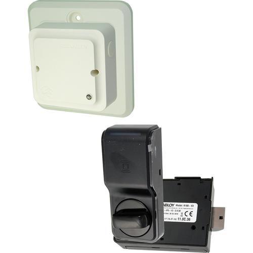 Hanchett K100-622H-IPS-BP K100 Prox/iclass Cabinet Lock