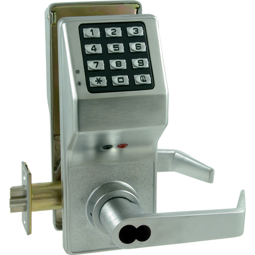 Alarm Lock DL2800IC/26D-S Alarm Lock Trilogy Lever With Chlage Icprep