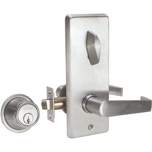 Schlage S210PDSAT626 Lock Interconnected Locks