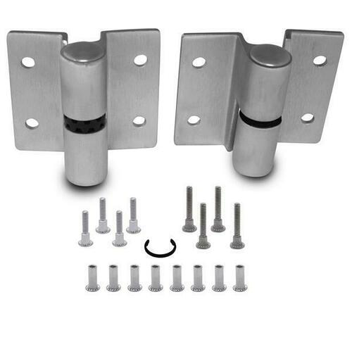 Jacknob 7123 Hinge-Surface-Heavy Stainless (Lh-In/Rh-Out)