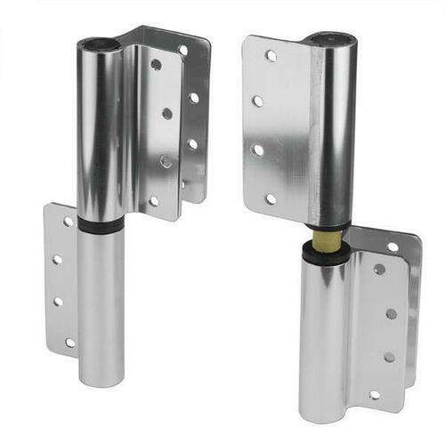 Jacknob 119314 Hinge-Surface Mounted (Lh-In/Rh-Out) (1/2-Flat 8984) Aluminum-Bd