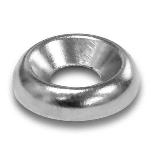 Jacknob 96623 #8 Finishing Washers-Nickel