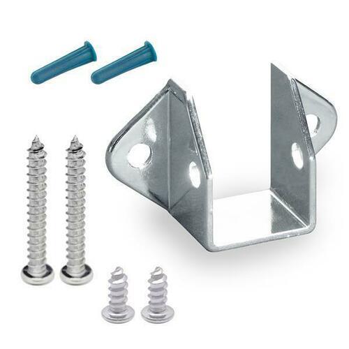 Jacknob 602150 Headrail Wall Bracket (2150) W/Screws (6Lp)