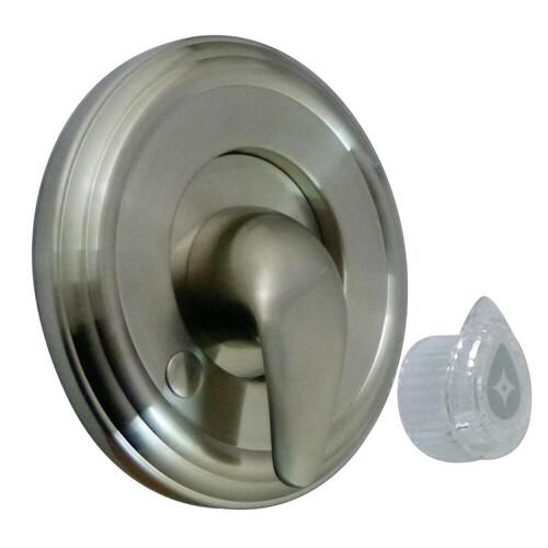Kingston Brass KT698MT Universal Tub and Shower Trim Kit for Moen Shower Faucet, Brushed Nickel