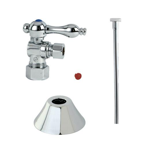 Kingston Brass CC53301TKF20 Traditional Plumbing Toilet Trim Kit, Polished Chrome