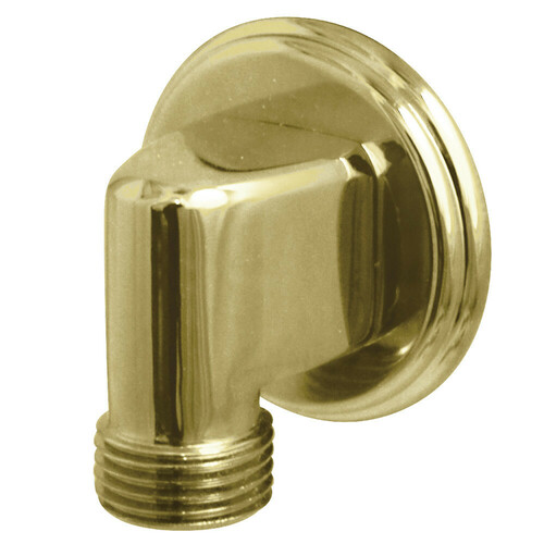 Kingston Brass K173T2 Showerscape Wall Mount Supply Elbow, Polished Brass