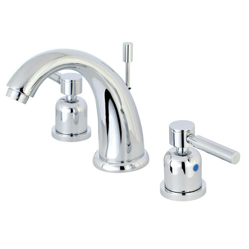 Kingston Brass KB8981DL 8 in. Widespread Bathroom Faucet, Polished Chrome