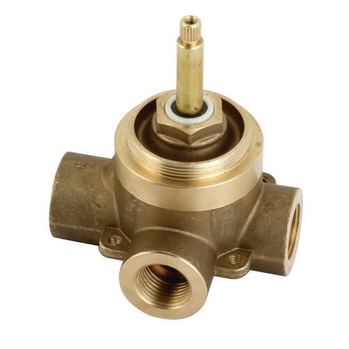 Kingston Brass KS3031V 3 Way Tub & Shower Diverter Valve