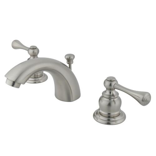 Kingston Brass KB3948BL Mini-Widespread Bathroom Faucet, Brushed Nickel