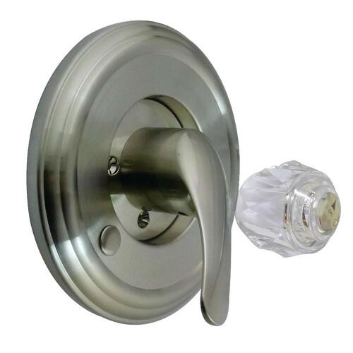 Kingston Brass KT698DT Universal Tub and Shower Trim Kit for Delta Shower Faucet, Brushed Nickel