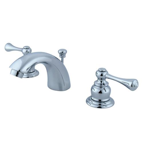Kingston Brass KB941BL Mini-Widespread Bathroom Faucet, Polished Chrome
