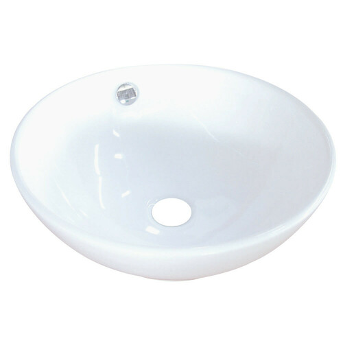 Kingston Brass EV4129 Perfection Vessel Sink, White
